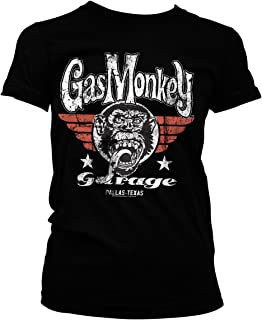 Officially Licensed Merchandise Gas Monkey Garage Flying High Womens T-Shirt