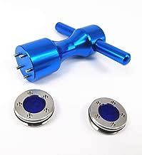 RoyMade 1Set Putter Weight Wrench Aluminium Alloy Golf Screw Wrench 5g/10g/15g/20g/25g/30g/35g/40g Putter Weight for Scotty Cameron Golf Putter Spanner