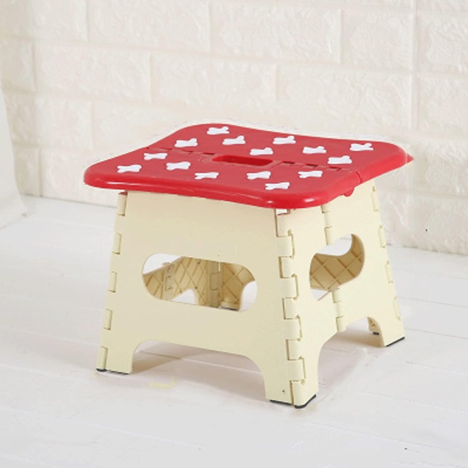 Folding Step Stool Foldable Stool Adults and Kids, Kitchen Stepping Stools, Garden Step Stool (color   1)