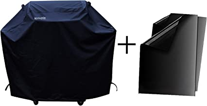 a1cover Grill Cover, Heavy Duty Waterproof Barbeque Grill Covers Fits Weber, Holland, Jenn Air, Brinkman, Char Broil, Medium 58