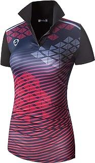 Sportides Women's Sport Tee Shirt Tshirt T-Shirt Short Sleeve Golf Tennis Badminton Bowling SWT251
