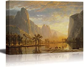 wall26 Valley of The Yosemite by Albert Bierstadt - Canvas Print Wall Art Famous Painting Reproduction - 16