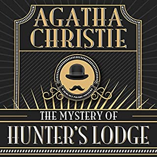 The Mystery of Hunter's Lodge audiobook cover art