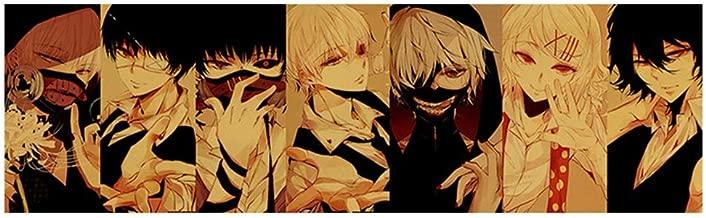 Ailin Online Anime Japonés Póster, 28x 8inch Alta Calidad No Fading Arte Estampado Poster para Hogar Decoración de Pared - Tokyo Ghoul