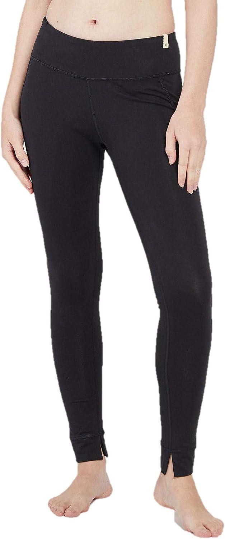 Satva Women's Organic Cotton Mantra Legging Yoga Pants Running Sports Workout Tights Soft & Slim Activewear