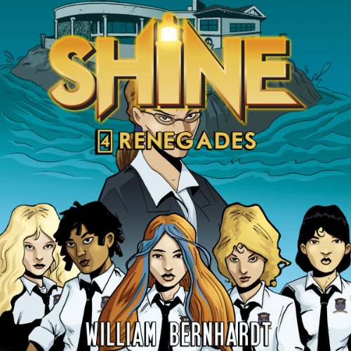 Shine #4 audiobook cover art