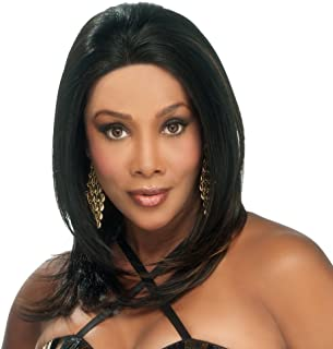 Vivica A. Fox MIRACLE-V Remi Human Hair, Deep Lace Front Wig in Color 1
