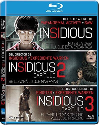 Pack Insidious 1+2+3 Blu-Ray [Blu-ray]
