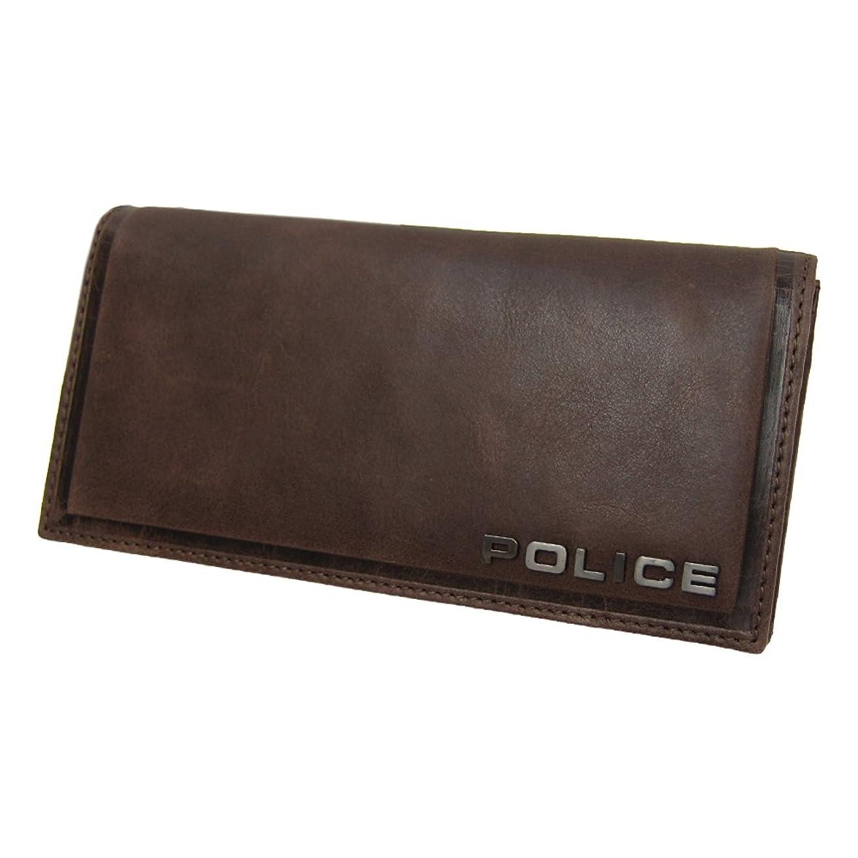 良さ老人段階[ポリス]POLICE 長財布 牛革 財布 EDGE BR 国内正規代理店商品 (42)