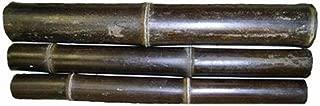 DWB Black Bamboo Poles Large - 2.5