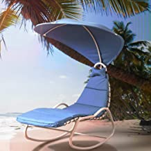 Outdoor Furniture Sun Lounge Swing Chair Lounger Canopy Bed Sofa Garden Patio