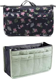 Namgiy Trousse de toilette de voyage multifonction portable pour femmes et filles 22 cm x 13,5 cm