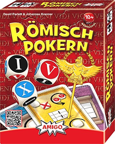 AMIGO 05953 - Römisch Pokern, Würfelspiel