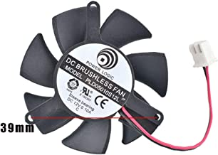 Cooling Revolution PLD05010S12L 45mm 12V 0.1A 2pin Vedio Card VGA Cooler Fan for GT220 GTS210 zotac geforce 210-TC512