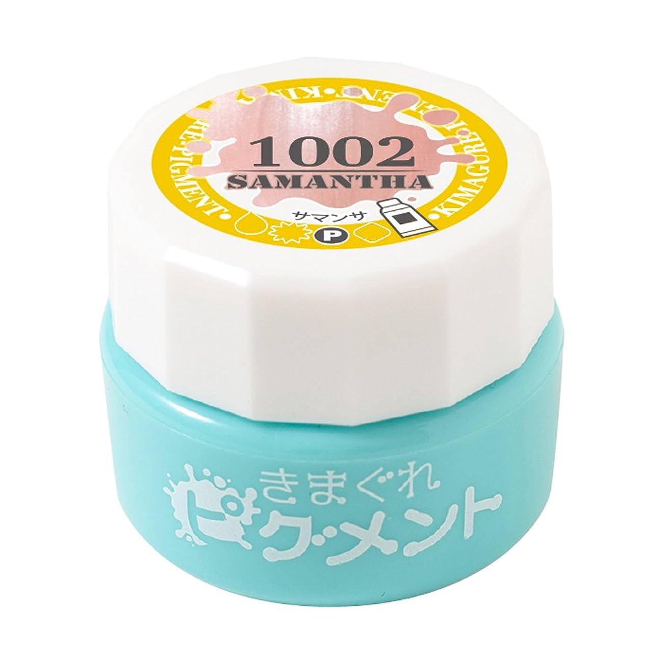 防腐剤セラフ粘液Bettygel きまぐれピグメント サマンサ QYJ-1002 4g UV/LED対応