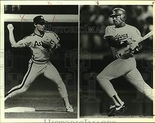 Historic Images - 1987 Press Photo Pedro Guerrero, Los Angeles Dodgers Baseball Player