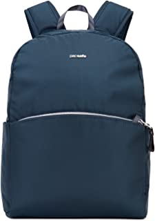 Stylesafe anti-theft backpack Mochila tipo casual, 37 cm, 12 liters, Azul (Navy Blue 606)