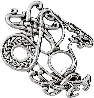 Lovoski Viking Shield Brooch Clothes Scarf Pin Celtic Norse Collar Lapel Corsage