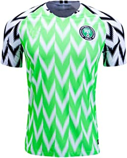 Nigeria Jersey Mens 2018 Russia World Cup Home Adult National Team Soccer Jerseys Green