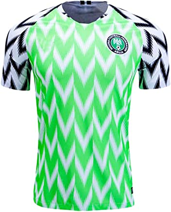 f775d339e01 Nigeria Jersey Mens 2018 Russia World Cup Home Adult National Team Soccer  Jerseys Green