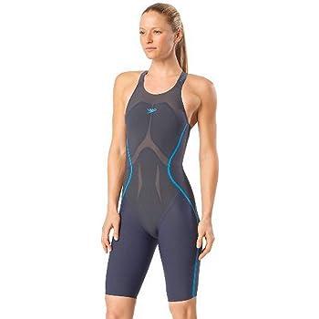 Espinas bombilla Obligar  Amazon.com: Speedo Fastskin LZR Racer X - Rodillera de espalda abierta,  gris/azul (024), 20: Clothing