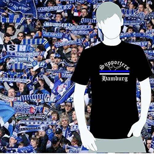 World of Football T-Shirt Supporters-Hamburg - XL