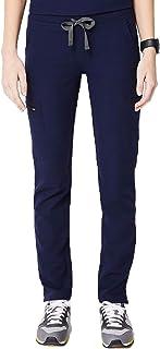 FIGS YOLA Skinny Scrub Pants for Women — Moisture-Wicking Medical Scrub Pants