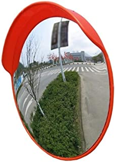 Car Turning Mirror, Intersection Blind Spot Traffic Mirror Rainproof Sunscreen Outdoor Wide-angle Lens Road Side Convex Sa...
