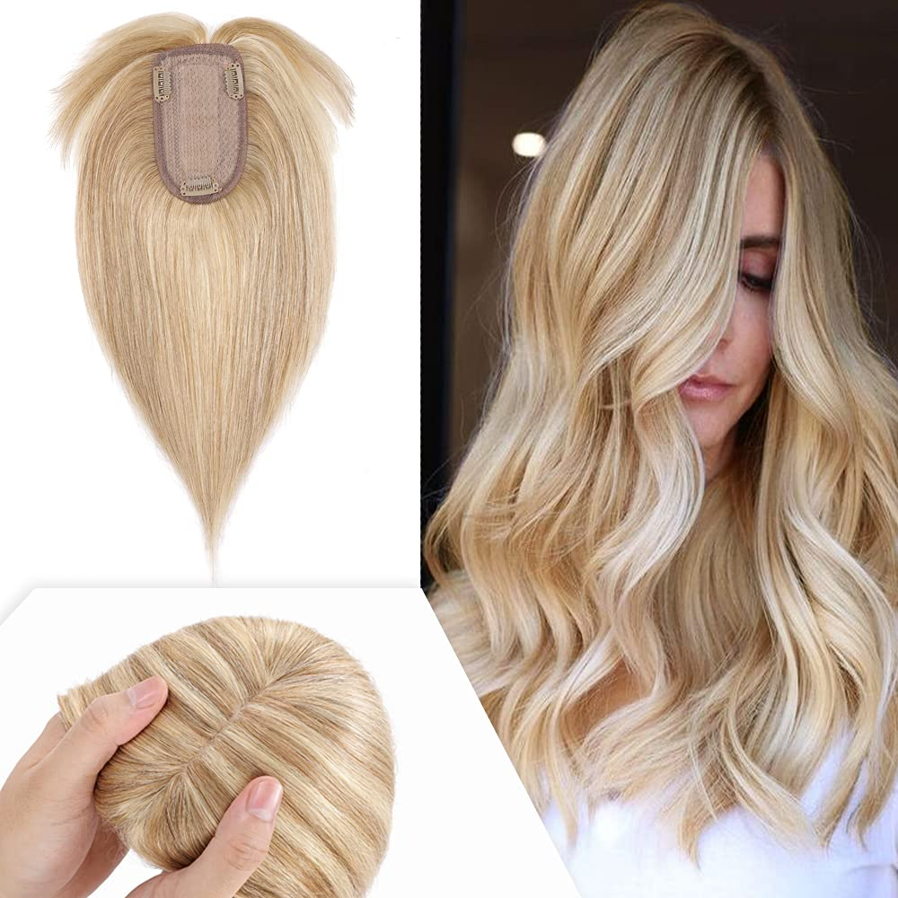 Hairro Clearance SALE! Limited time! 16 Inch Clip in Human Hair with fo Silk Max 77% OFF Bangs Base Topper