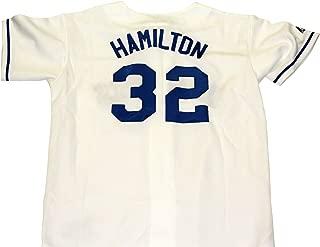 Josh Hamilton Texas Rangers Unsigned Majestic Baseball Jersey - Size XL