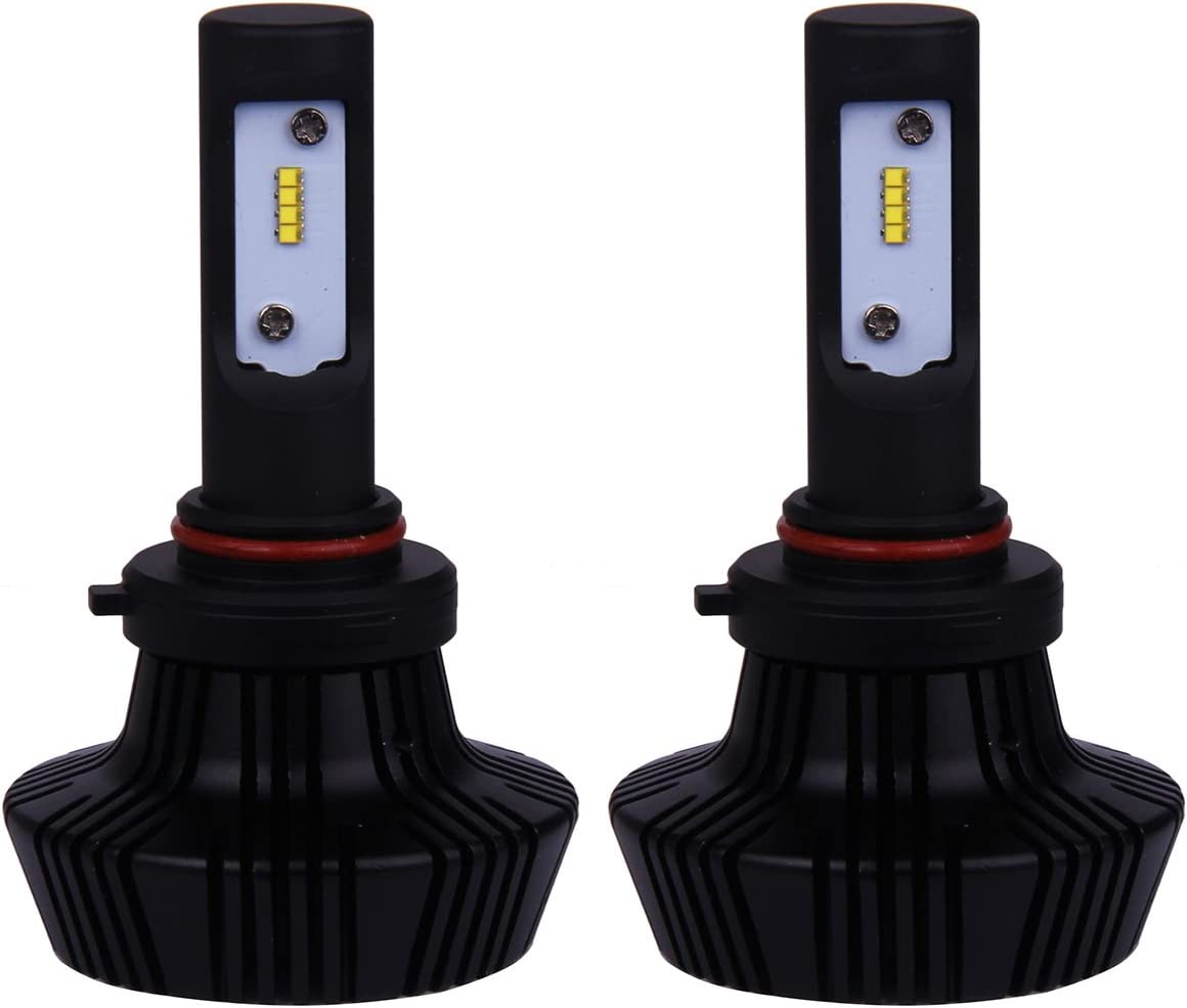 Auto Xenon White LED Bulbs OFFer Running In a popularity Daytime Light 2pcs