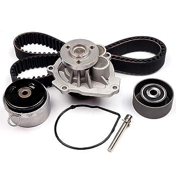 SCITOO Timing Belt Water Pump Kit Fit 2008-2014 Pontiac G3 Wave Saturn Astra Suzuki Swift Chevrolet Aveo Cruze Sonic Aveo5 4Cyl 1.6L 1.8L