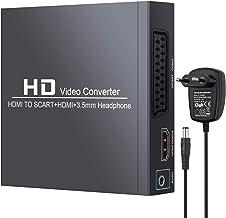 Neoteck HDMI a SCART y HDMI Convertidor HDMI a HDMI+Señal