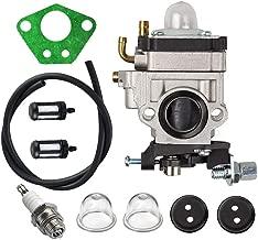 Fuerdi MC43 Carburetor for 300486 Earthquake E43 E43CE E43WC Auger MC43 MC43E MC43CE MC43ECE MC43RCE Tiller MD43 WE43 WE43E WE43CE Edger Carb with Repower Tune-Up Kit