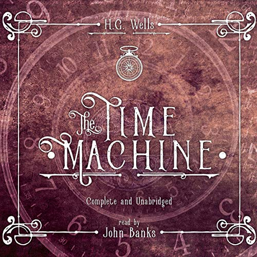 The Time Machine audiobook cover art