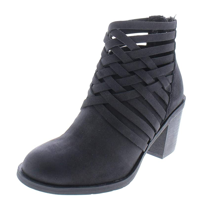 バースにじみ出る知覚的[Style & Co.] Womens Avarya Closed Toe Ankle Fashion Boots [並行輸入品]
