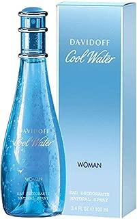Cool Water by Davidoff for Women - Eau de Toilette, 100ml