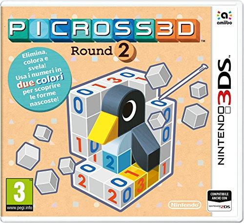 Picross 3D: Round 2 - Nintendo 3DS