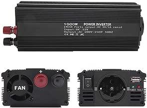 Fdit Inverter A Onda Sinusoidal 200V ~ 240V 1000W Potencia con Panel Solar Inverter 10~ 15V Power Inverter Sine Wave Inverter Solar convertidor para Uso doméstico