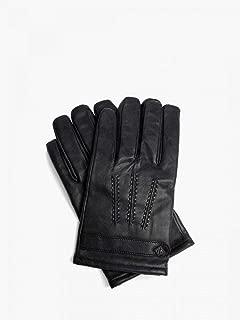 Ted Baker Leather Mens Gloves Black