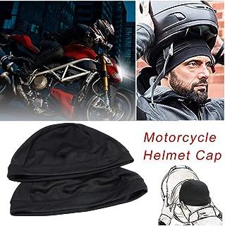 Red-eye Sweat Wicking Cooling Helmet Liner - Motorcycle Helmet Inner Cap Quick Dry Breathable Hat Under Helmet Beanie Cap Bicycle Racing Cap for Helmet,Unisex