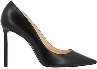 JIMMY CHOO Luxury Fashion Womens ROMY100KIDBLACK Black Pumps   Season Permanent