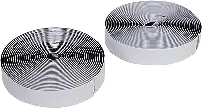 Fixman 759818 zwarte zelfklevende haak & lus tape 20mm x 5m 2-delige set