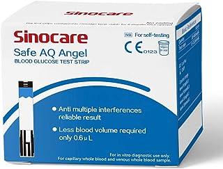 50 tiras reactivas para medidor de glucosa en sangre Safe AQ Angel
