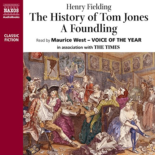 The History of Tom Jones - A Foundling   cover art