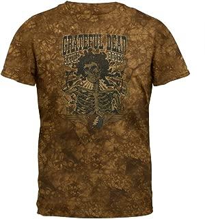 Grateful Dead - Mens 71 Skull & Roses Tie Dye T-Shirt