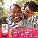Liquid Multivitamin for Men & Women by MaryRuth's, Vegan Vitamin A, B, C, D3, E & Amino Acids, Sugar Free, 1 Month Supply,Raspberry, 32 Fl Oz #2