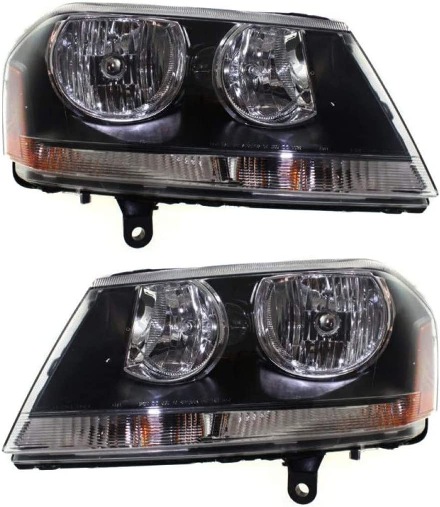 For Ranking TOP8 Dodge Avenger Headlight Assembly 2008 12 10 Popular brand in the world 2013 11 Pair 09