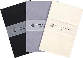 いろは カラー無地てぬぐい 3枚セット 綿100% 日本製 ほつれ防止加工なし 90×33cm Bパターン