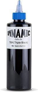 Dynamic Triple Black Tattoo Ink Bottle 8oz